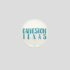Galveston Texas Mini Button