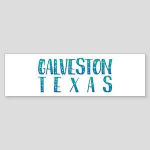 Galveston Texas Bumper Sticker