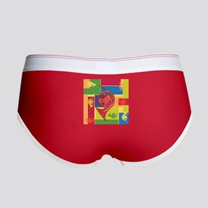 French Horn Colorblocks Women's Boy Brief