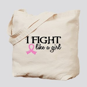 Licensed Fight Like a Girl 18.7 Tote Bag