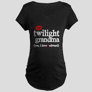 Twilight Grandma Maternity Dark T-Shirt