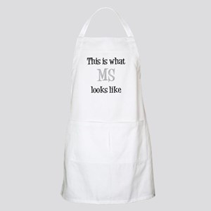 This is what MS looks like Apron