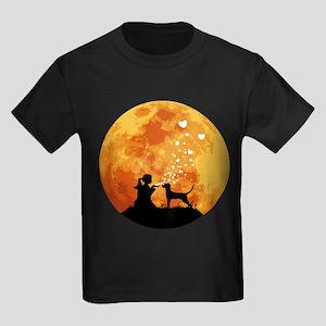Redbone Coonhound Kids Dark T-Shirt