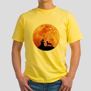 Redbone Coonhound Yellow T-Shirt