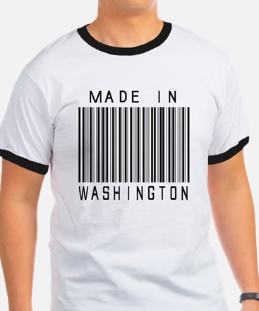 Washington Barcode T-Shirt
