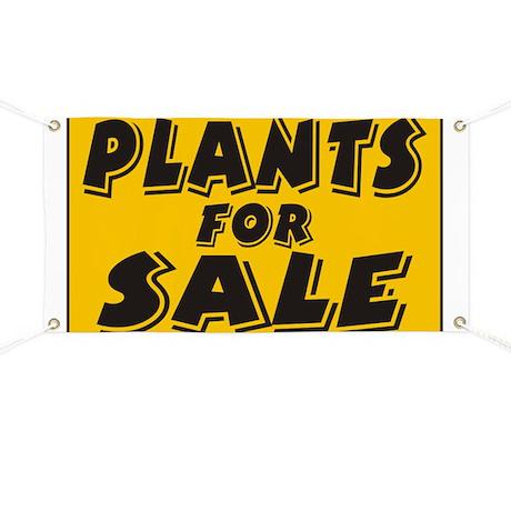 Plants sale Banner