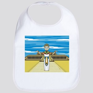 Egyptian Pharaoh King Babies Bib