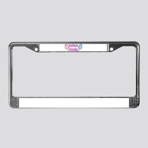 Cotton Candy License Plate Frame