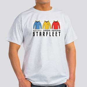 Starfleet Uniforms Light T-Shirt