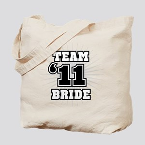 Black 11 Team Bride Tote Bag