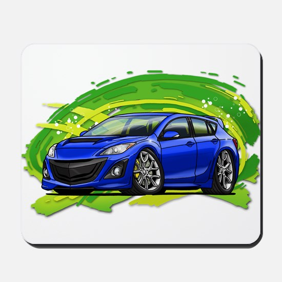 Blue Speed3 Mousepad