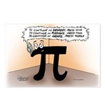 Pi On Hold Postcards (Package of 8)