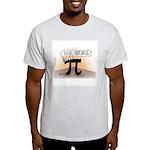 Pi On Hold Light T-Shirt