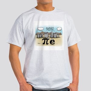 Pi at Stonehenge Light T-Shirt