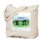 Golf Negative Skew Tote Bag