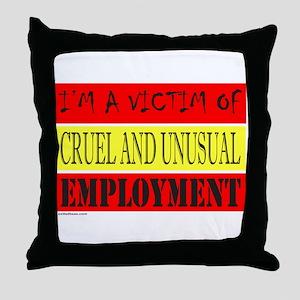 JOB/EMPLOYMENT/CAREER Throw Pillow