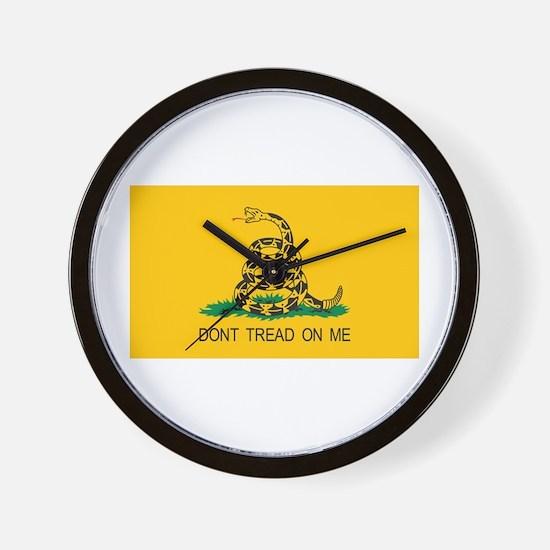 Gadsden Flag Wall Clock