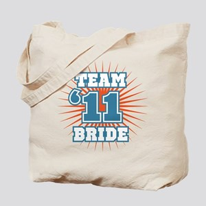 Slate 11 Team Bride Tote Bag