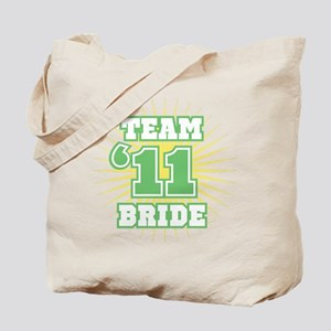 Sage 11 Team Bride Tote Bag