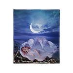 Mermaid - Throw Blanket