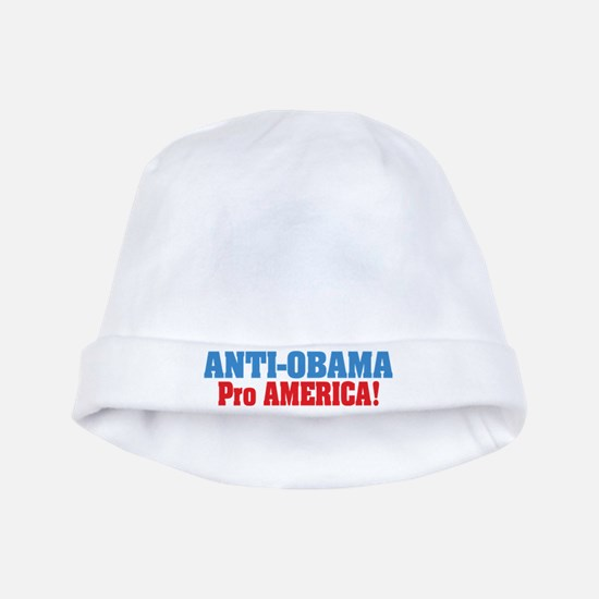 Anti Obama Pro America baby hat