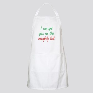 Naughty List Apron