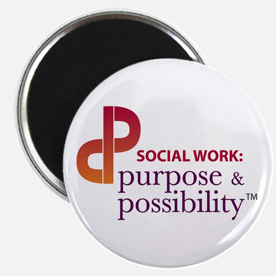 """Purpose and Possibility 2.25"""" Magnet (10 pack"""