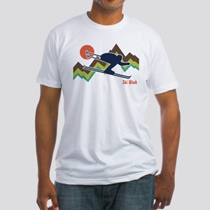 Ski Utah Fitted T-Shirt