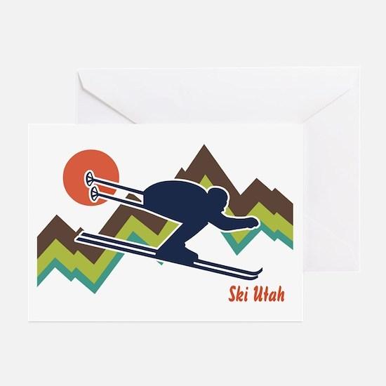 Ski Utah Greeting Cards (Pk of 10)