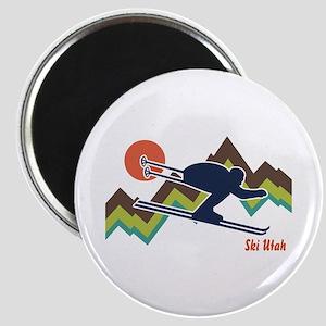 Ski Utah Magnet