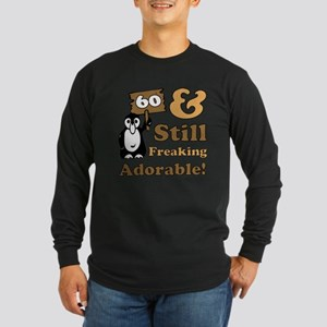 Adorable 60th Birthday Long Sleeve Dark T-Shirt