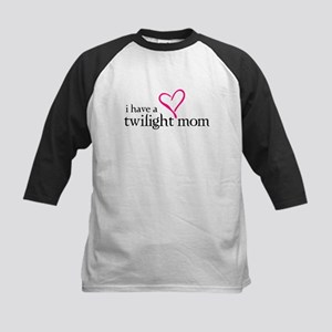 Proud Twilight Mom Kids Baseball Jersey