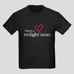 Proud Twilight Mom Kids Dark T-Shirt