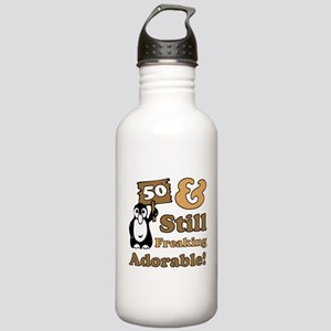 Adorable 50th Birthday Stainless Water Bottle 1.0L