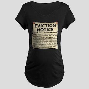 Bowling Ball Maternity Dark T-Shirt