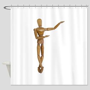 Pirouette061809 Shower Curtain