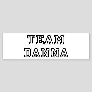 Team Danna Bumper Sticker