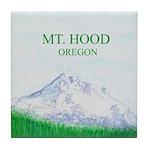 Mt Hood, Oregon Tile Coaster