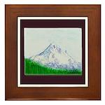 Mt Hood, Oregon Framed Tile