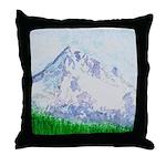 Mt Hood, Oregon Throw Pillow