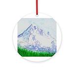 Mt Hood, Oregon Ornament (Round)