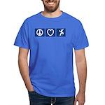 Peace Love Climb Dark T-Shirt