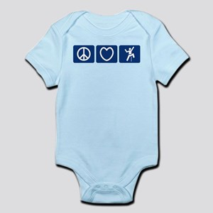 Peace Love Climb Infant Bodysuit