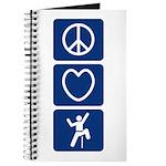 Peace Love Climb Journal
