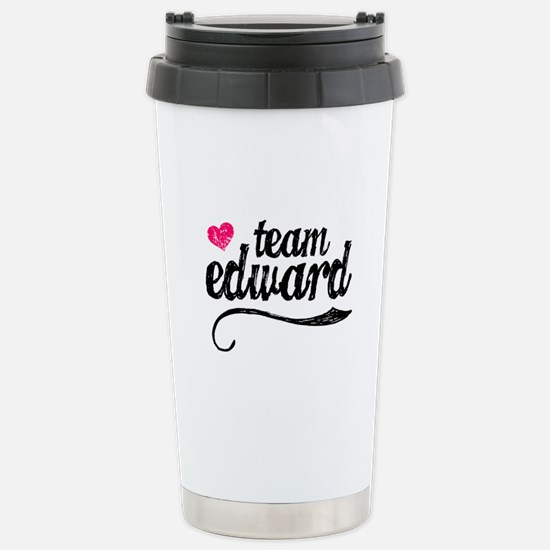 Team Edward Stainless Steel Travel Mug
