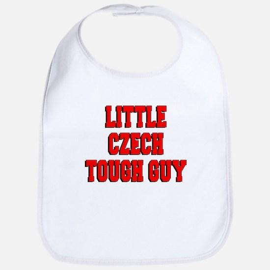 Little Czech Tough Guy Bib