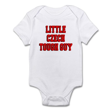 Little Czech Tough Guy Infant Bodysuit
