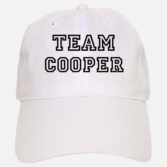 Team Cooper Baseball Baseball Cap