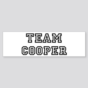 Team Cooper Bumper Sticker