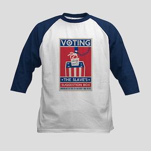 Voting Kids Baseball Jersey